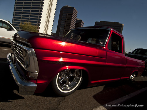 Candy Apple Lows Cruising Central Avenue In Phoenix