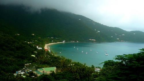 ~ Rainy Day In Cane Garden Bay, Tortola, British Virgin Islands ~ | by Jenn Kahalau Photography