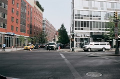 Bowery & 1st, east (now-2012)