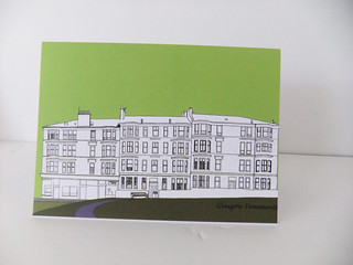Glasgow tenement blank card | by peonyandthistle