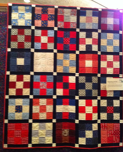 Patriotic Quilt by Girl Scouts Troop 32167 | by Pam from Calif