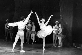 David Blair and Svetlana Beriosova in the Sadler's Wells Ballet production of The Prince of the Pagodas 1957 © Roger Wood/ROH 1957 | by Royal Opera House Covent Garden