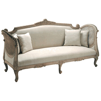 Barreveld upholstered and caned canape sofa barreveld upho flickr - Sofa canape difference ...