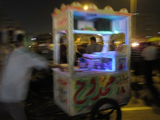 Food cart, Tahrir Square | by glichfield
