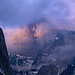 Clouded Sunset, Half Dome, Yosemite National Park