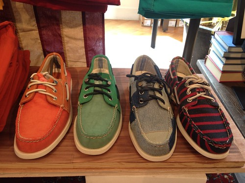 BOO X SPERRY 2012'SS New Arrival | by MOYEN STYLE
