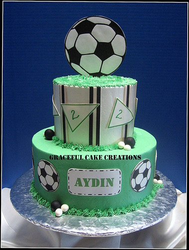 Soccer Ball Birthday Cake Ideas