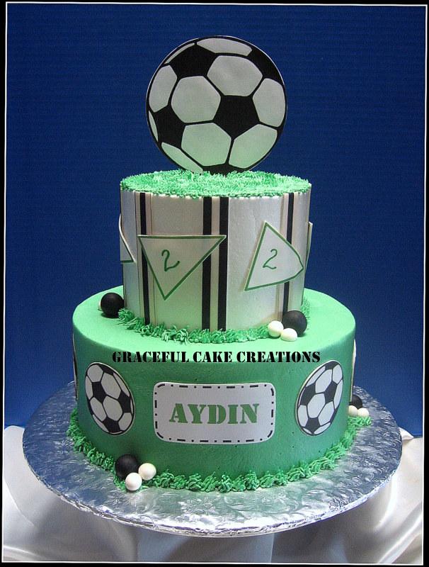Soccer Ball Birthday Cake Grace Tari Flickr