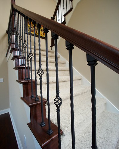 Wrought Iron Staircase Newark 3012 Wayne Homes Flickr