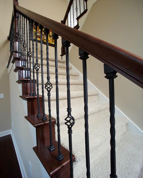 Wrought Iron Staircase: Wrought Iron Staircase