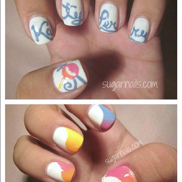 Yep Katy Perry Nail Design Igerinstastyleinstafashioni Flickr