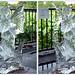 DSCF0810 上野夏まつり 氷の彫刻 (crosseye 3D)