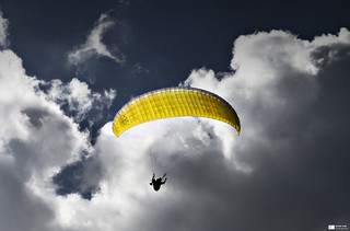 Paraglider | by Daniel Wildi Photography