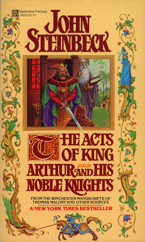 a report on john steinbecks king arthur The acts of king arthur and his noble knights: (penguin classics deluxe edition ) [john steinbeck, chase horton, christopher paolini] on amazoncom free.