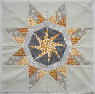 Paper-pieced star for Kati | by freshlypieced