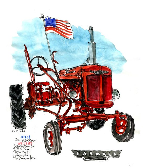 International Tractor Tattoo Designs : Ih tractor tattoo pictures to pin on pinterest
