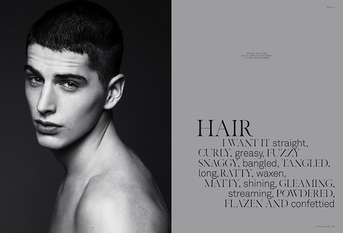 KAIZFENG FASHION - L'OFFICIEL HOMME - HAIR | by KAI Z FENG