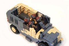 Grizzly Interior by Lego Junkie.