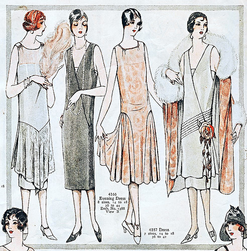 Gorgeous 1920s Fashion Illustration Faith Trimmer Flickr