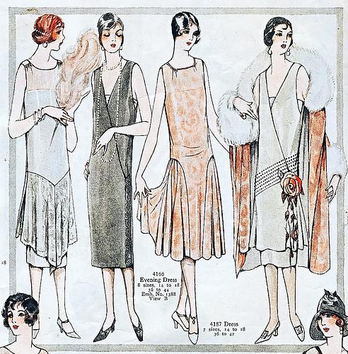 Gorgeous 1920s fashion illustration | Faith Trimmer | Flickr