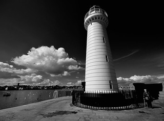 you haven't walked the pier unless you round the lighthouse | by ifido