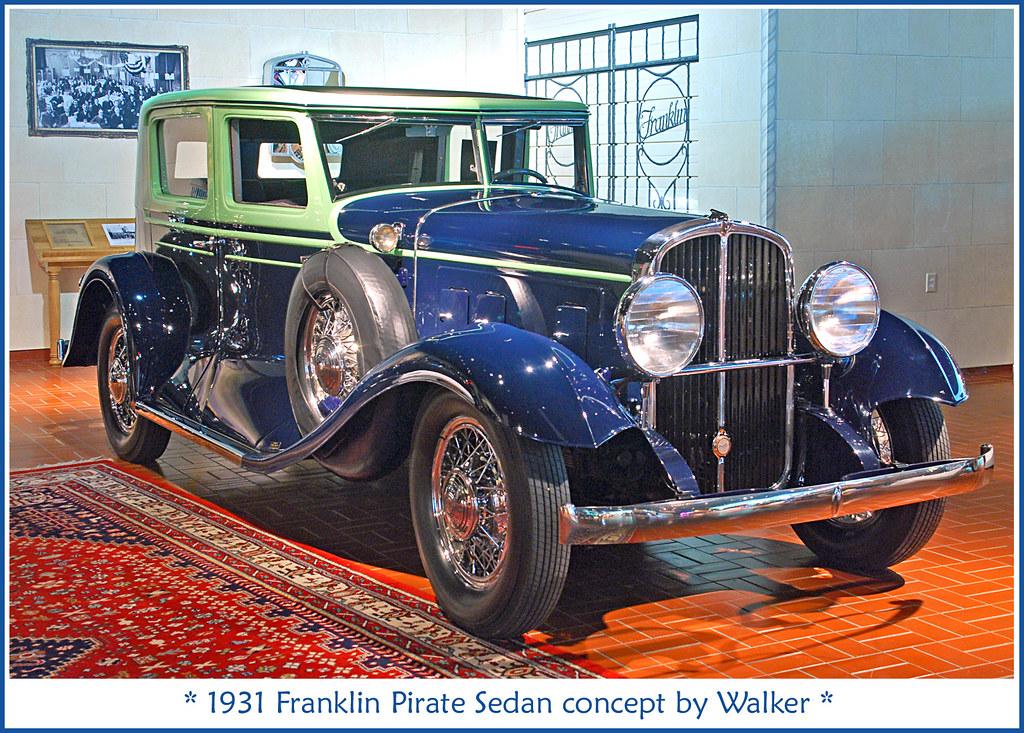 What Is Sedan Car >> 1931 Franklin Pirate Sedan | June 3, 2012 at the Gilmore Car… | Flickr