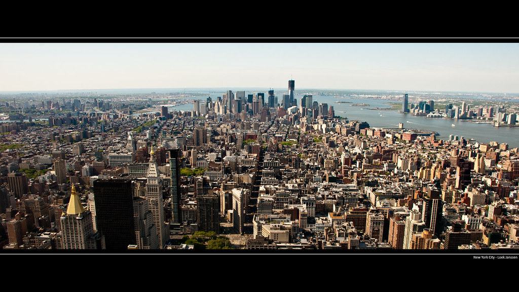 Nyc Skyline Manhattan Wallpaper Desktop Background 1920 Flickr