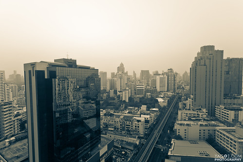 Urban Bangkok Skyline | by yago1.com