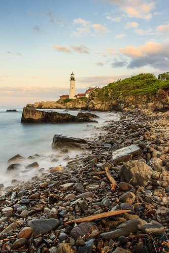 Sunset at Portland Head [Explored] 6-1-12 | by Tom Whitney Photography