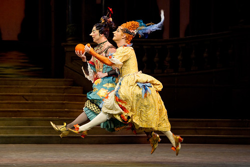 Alastair Marriott and Jonathan Howells as the Stepsisters in Cinderella © Tristram Kenton/ROH 2011 | by Royal Opera House Covent Garden