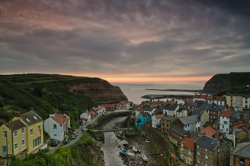 Staithes sunrise. | by paul downing