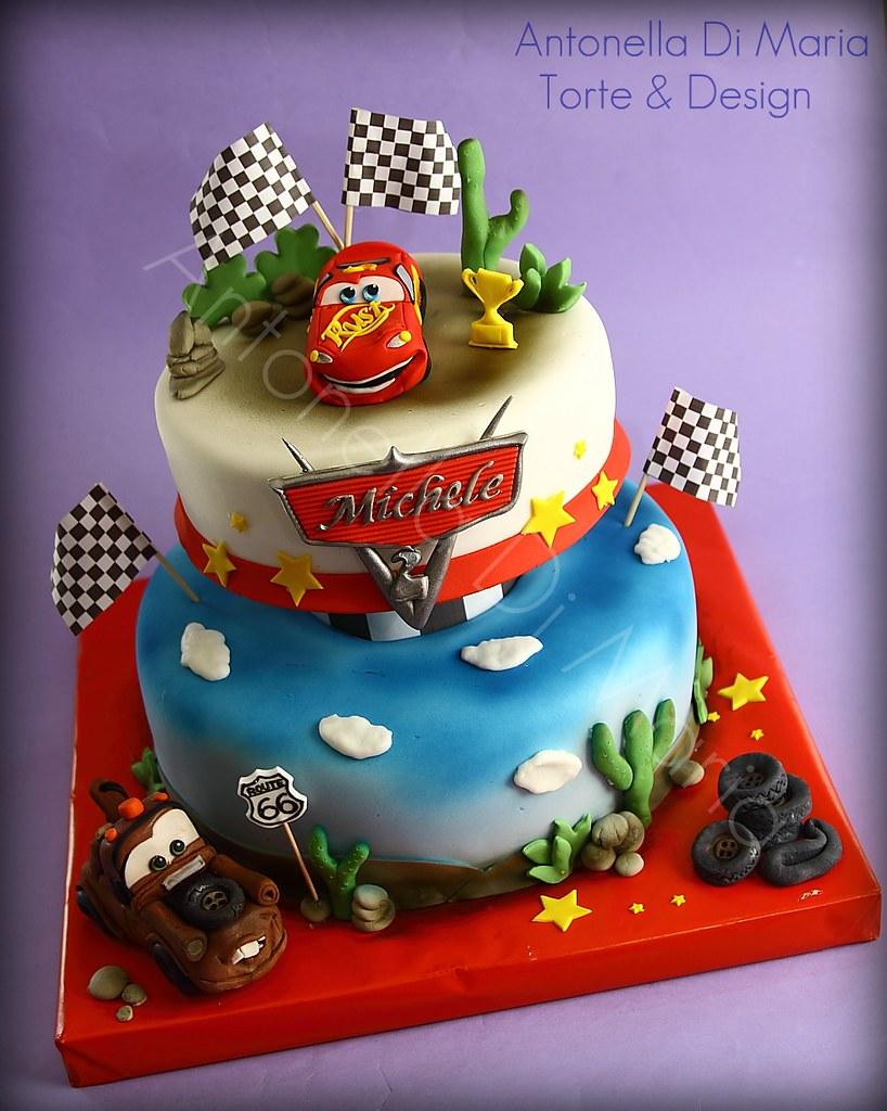 Cars 1 antonella di maria torte & design Flickr