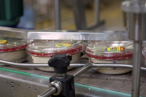 hummus production line | by David Lebovitz
