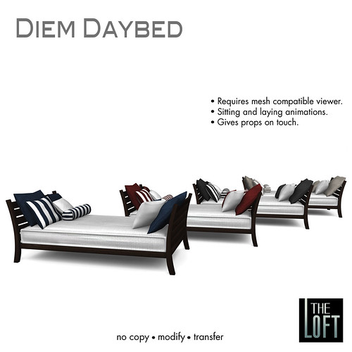 The Loft Diem Daybed All | by The Loft SL