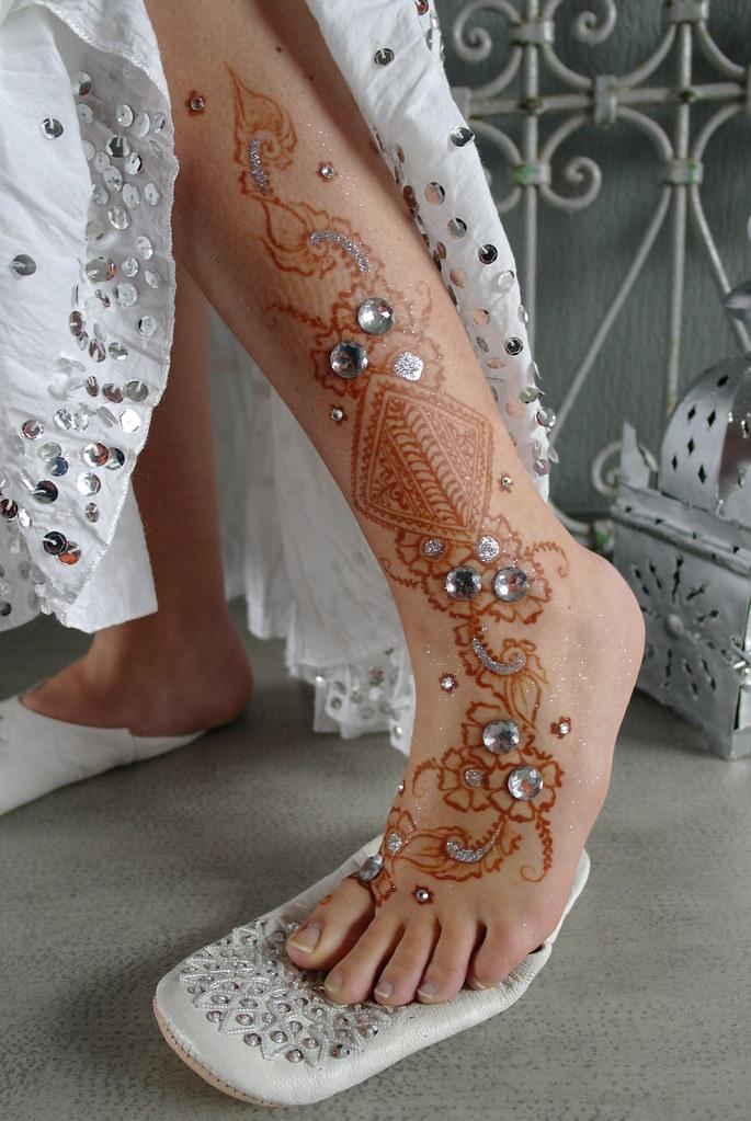 Henna Leg Fessi Fusion Design By Fatima Fatima S Fessi Fus Flickr