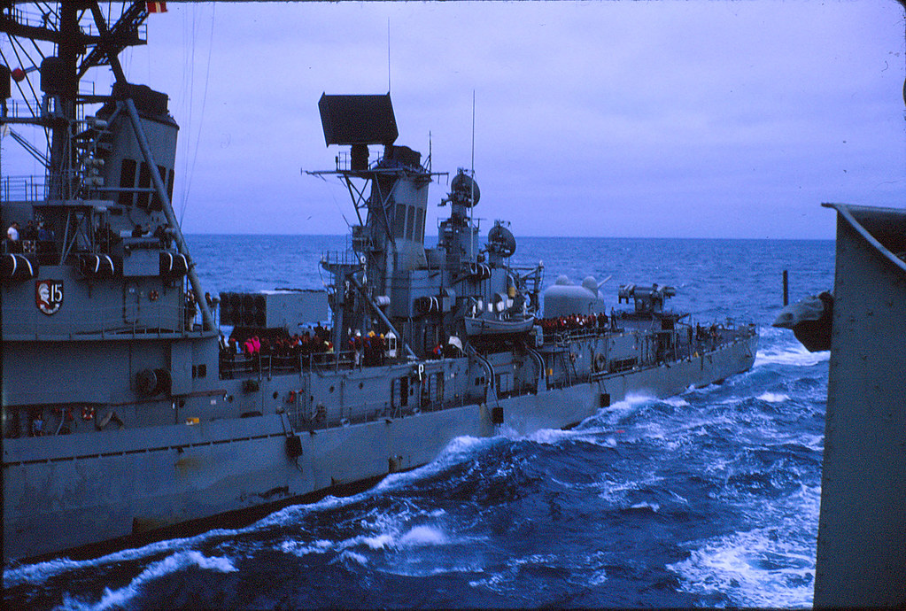 WITH THE RAN IN SE ASIA: USS BUCHANAN again, with HMAS PER ...