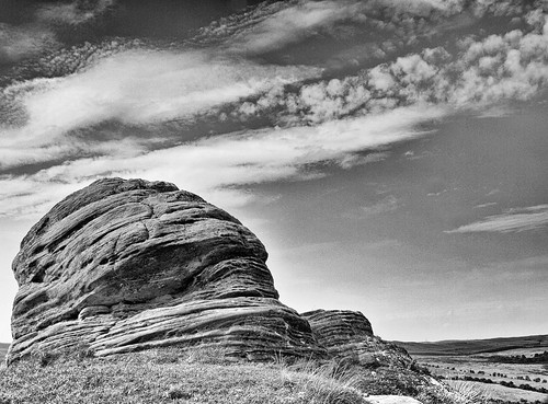 Rock formation in mono | by Cheviot-walker