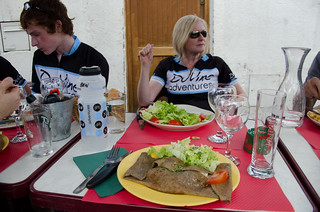 2nd July - Client Lunch in Chaumont, Loire | by The Hungry Cyclist