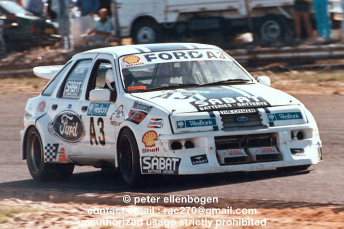 Willie Hepburn Ford Sierra Xr8 Quot The Animal Quot South Afri