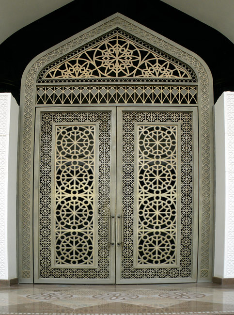 ... Heavy Metal Fretwork Door | by Kombizz & Heavy Metal Fretwork Door | Kombizz Kashani | Flickr