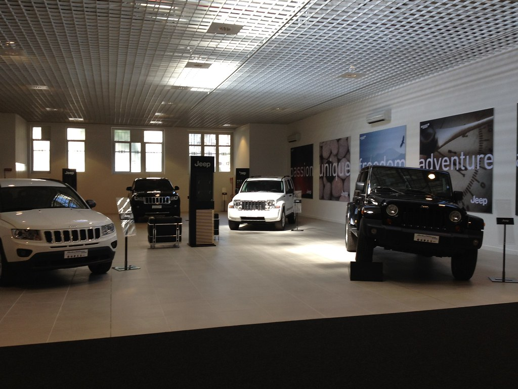 Motor Village Roma Il Nuovo Showroom Jeep Un Primo Piano Flickr