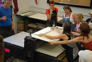 Collaboration in the Print Studio | by crol373