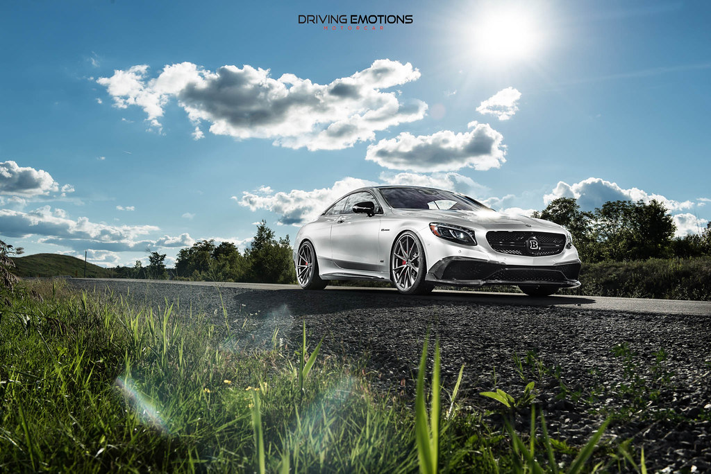 Brabus Mercedes Benz S63 Amg Coupe With Hre P204 Wheels
