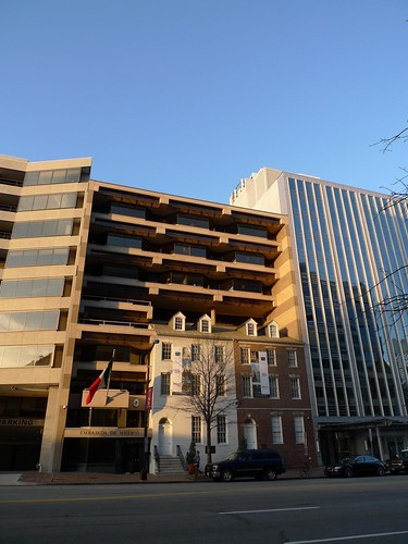 Crazy DC Facadism (Mexican Embassy?) | by mark.hogan
