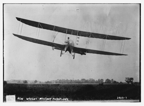 New Wright Military Aeroplane  (LOC) | by The Library of Congress