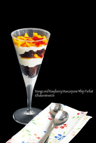 Mango and Raspberry Mascarpone Whip Parfait2 | by BakerStreet29