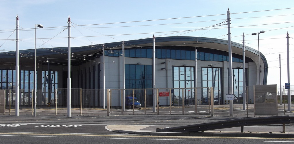 New Tram Depot At Starr Gate Blackpool The Works