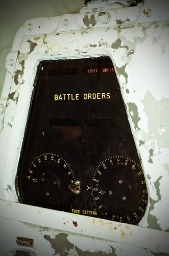 Battleship Park USS Alabama 2012, 5 inch mount battle orders | by divemasterking2000