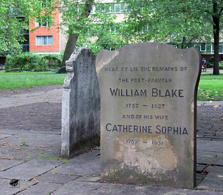 William Blake sírja - Tomb of William Blake | by The Crow2