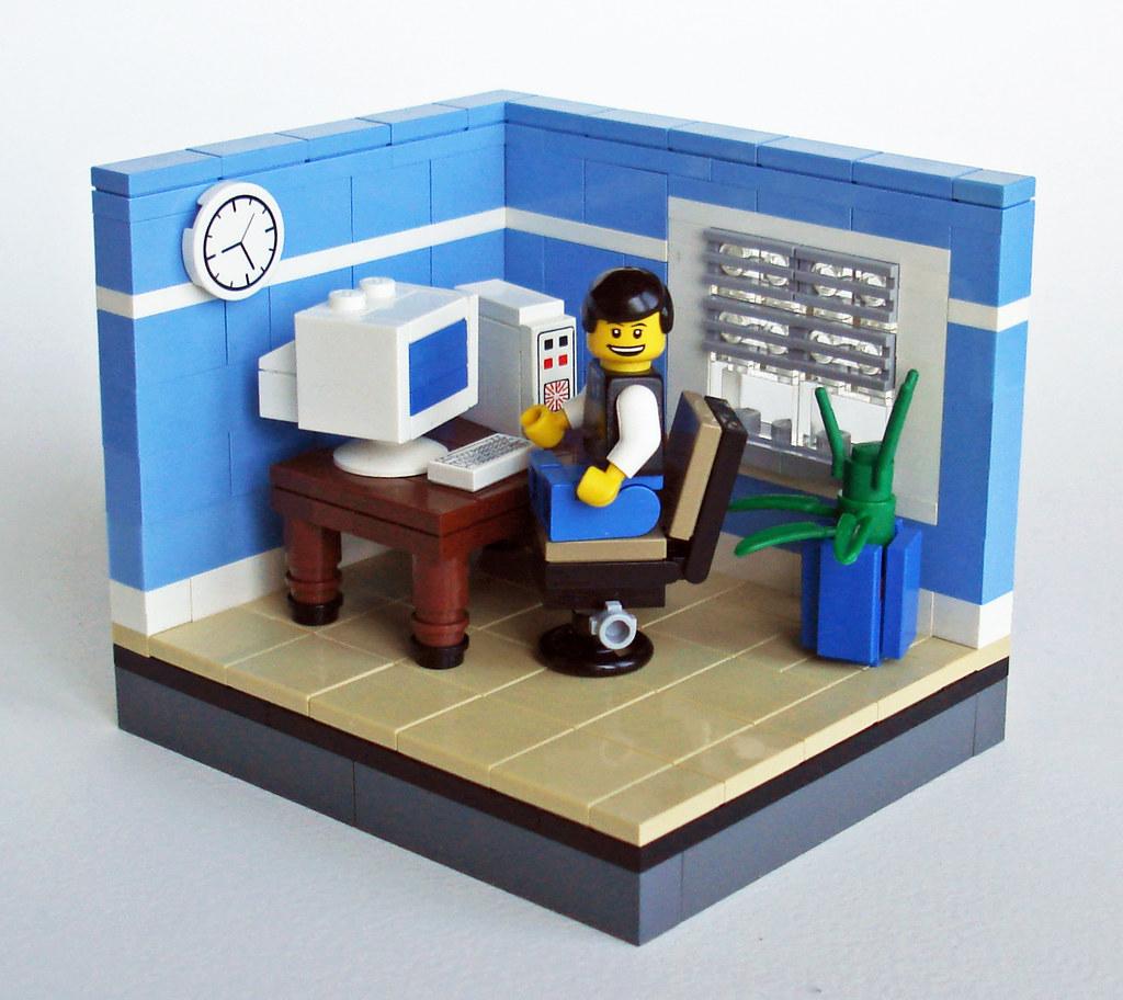 Small office from the 90s | Johan Alexanderson (LegoJalex